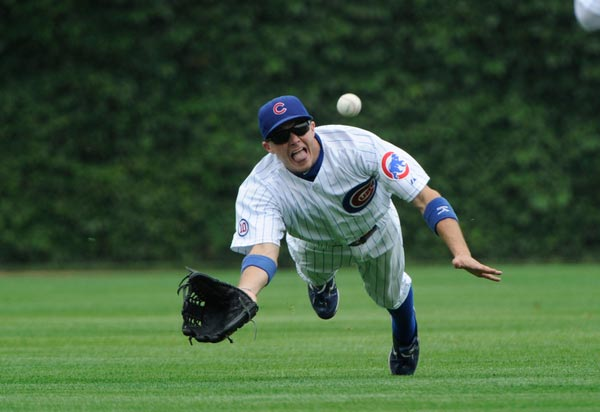 Chicago Cubs center fielder Tony Campana