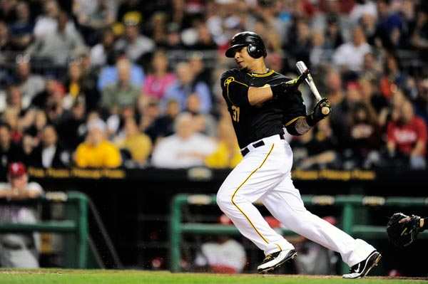 Pittsburgh Pirates left fielder Jose Tabata