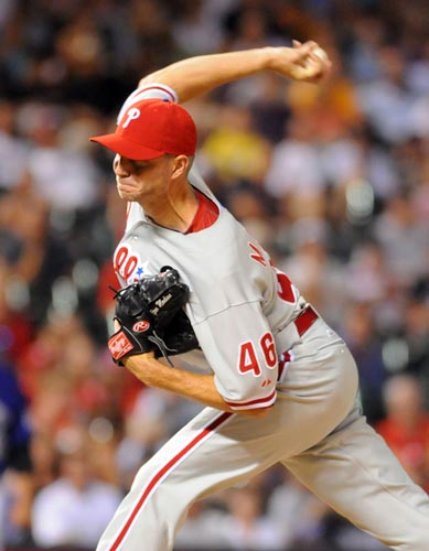 Philadelphia Phillies relief pitcher Ryan Madson