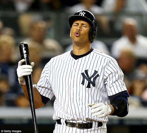 A-Rod Banned in the 2014 Session