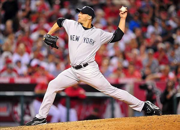 New York Yankees starting pitcher Andy Pettitte