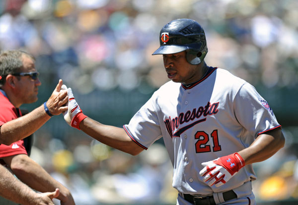 Twins outfielder Delmon Young