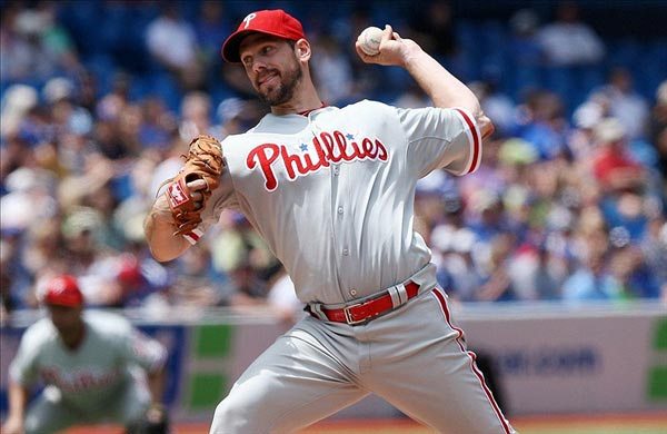 Philadelphia Phillies starting pitcher Cliff Lee